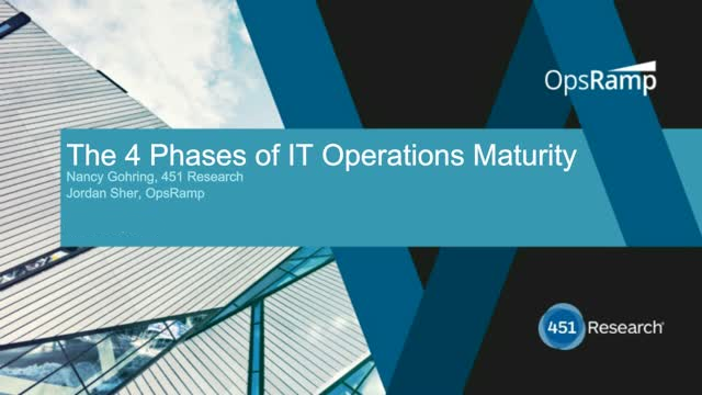The 4 Phases of IT Operations Maturity