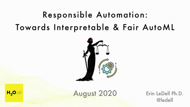 Responsible Automation: Towards Interpretable & Fair AutoML