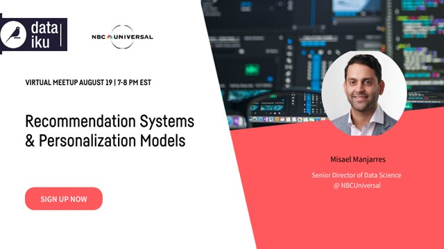 Recommendation Systems & Personalization Models w/ NBCUniversal