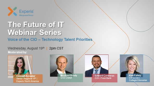 The Future of IT Webinar Series: Voice of the CIO