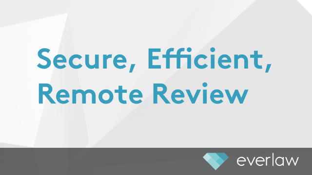 Secure, Efficient, Remote Review: Organization Administration Made Easy