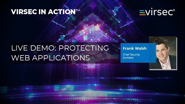 Live Demo: Protecting Web Applications