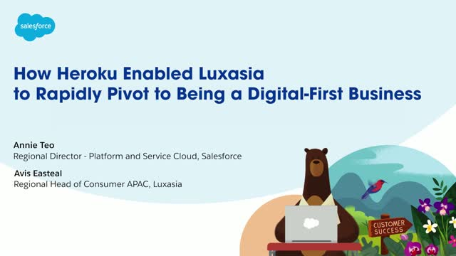 How Luxasia was able to pivot to e-commerce quickly with the help of Heroku