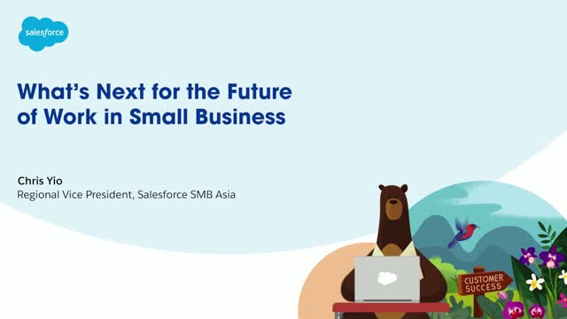 What's next for the future of work in Small Business