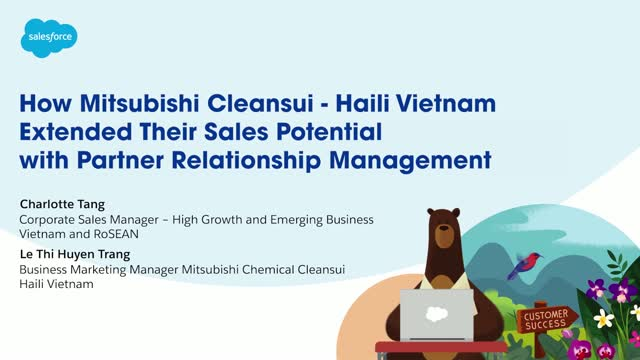 How Mitsubi Chemical Cleansui - Haili Vietnam extended their Sales potential