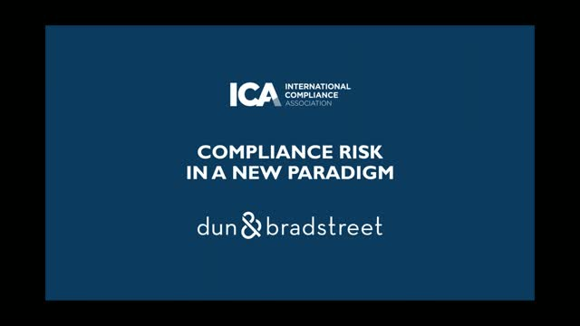 Compliance Risk In a New Paradigm