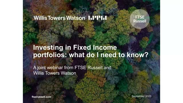 Sustainable Investing in Fixed Income portfolios: what do I need to know?