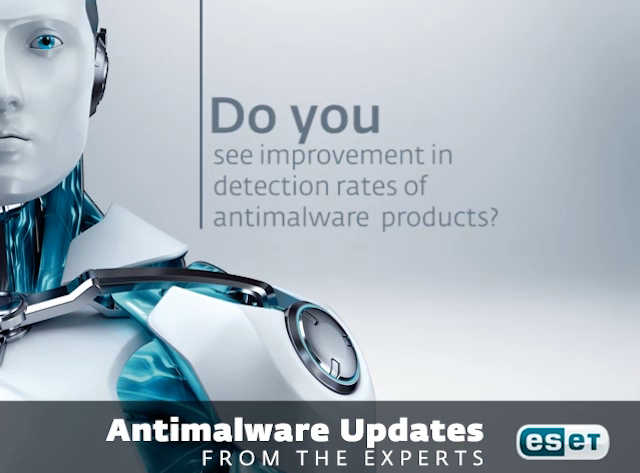 Do you see improvement in detection rates of antimalware products?