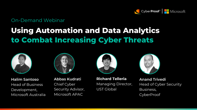 Using Automation and Data Analytics to Combat Increasing Cyber Threats