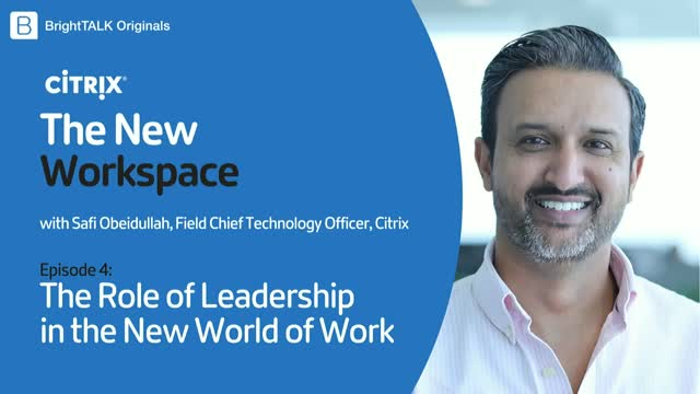 The Role of Leadership in the New World of Work