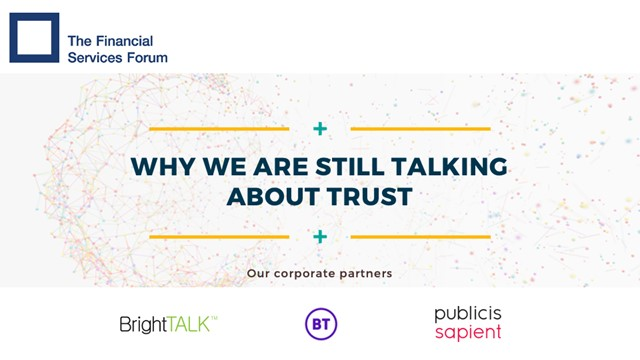 Why We Are STILL Talking About Trust