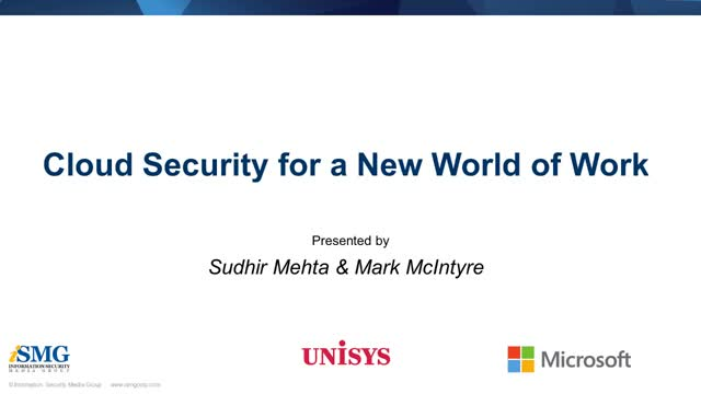 Cloud Security for a New World of Work