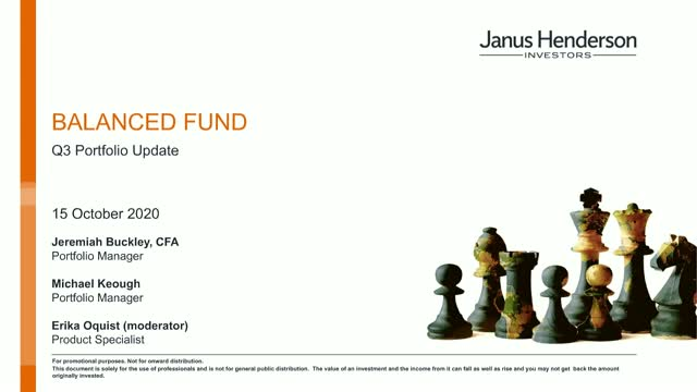 Janus Henderson Balanced Fund: Portfolio Update and Market Outlook