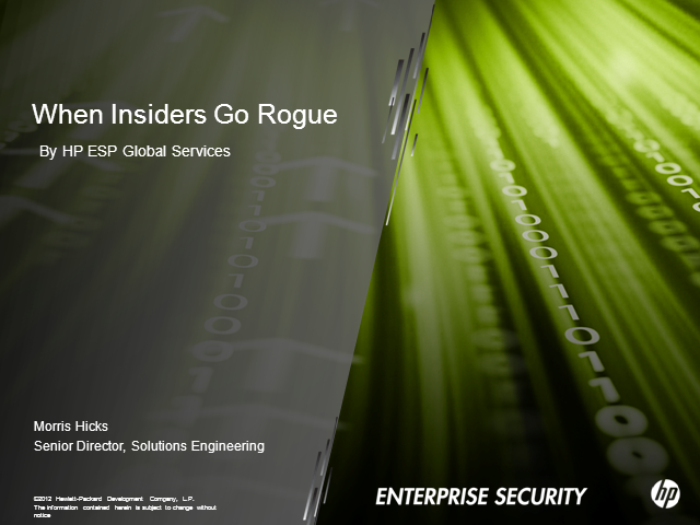When Insiders Go Rogue: Tactics for Monitoring and Containing Breaches