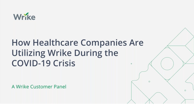 How Healthcare Companies Are Managing Projects During COVID-19
