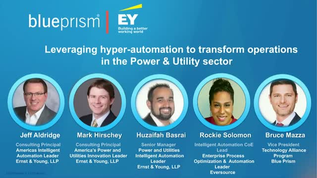 Leveraging Hyper-automation to Transform Operations in Power & Utility Sector