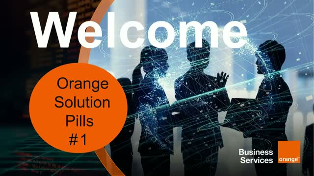 Orange Solution Pill #1 - IoT Managed Global Connectivity