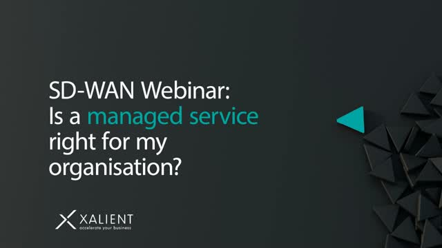 SD-WAN Webinar: Is a managed service right for my organisation?