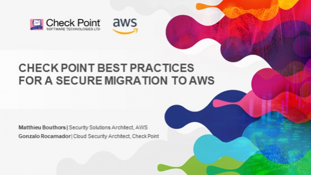 Check Point Best Practices for a Secure Migration to AWS