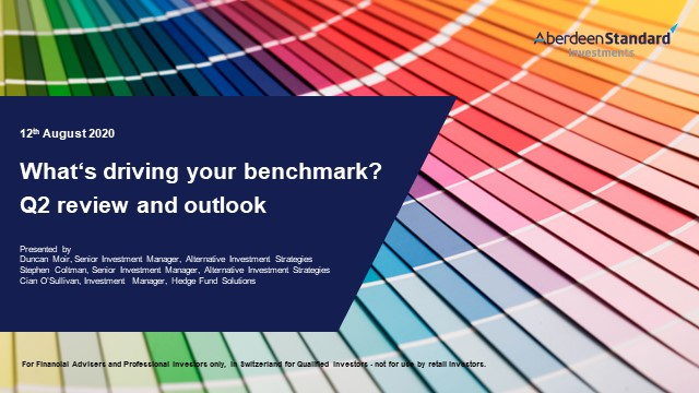 Q2 review and outlook - what's driving your hedge fund benchmark?