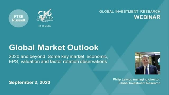 Global Market Outlook - 2020 and Beyond. For investors in EMEA