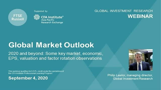 Global Market Outlook - 2020 and Beyond. For investors in the APAC region