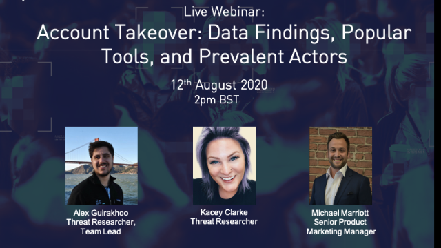 Account Takeover: Data Findings, Popular Tools, and Prevalent Actors