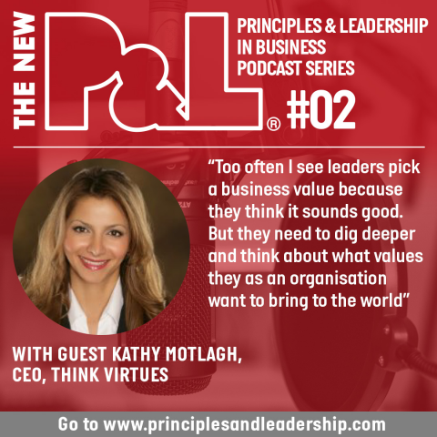 The New P&L speaks to Think Virtues CEO, Kathy Motlagh