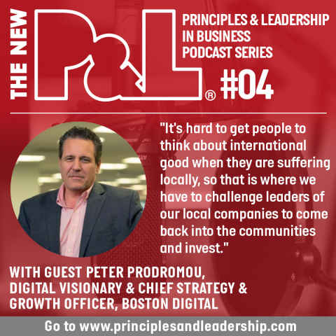 The New P&L speaks to Digital Visionary, Peter Prodromou