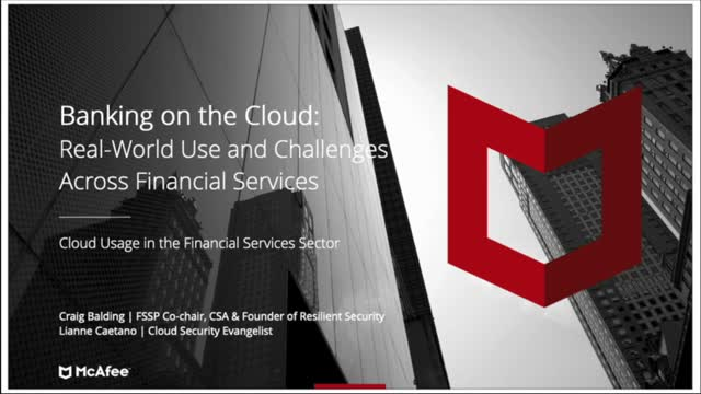 Banking on the Cloud: Real-World Use and Challenges Across Financial Services
