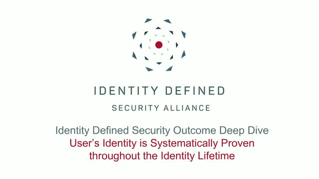 Security Outcome Deep Dive Series: Continuous Identity Assurance