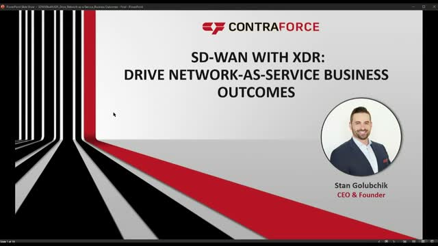 SD-WAN with XDR: Drive Network-as-a-Service Business Outcomes