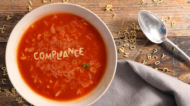Out of Alphabet Soup and into Compliance