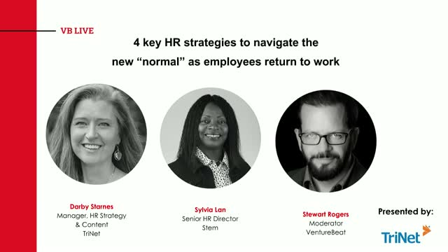 "4 key HR strategies to navigate the new ""normal"" as employees return to work"