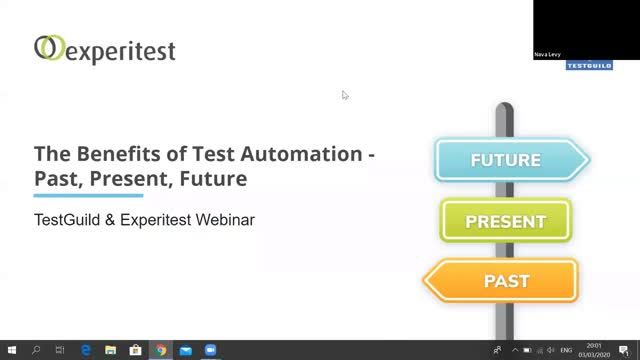 The Benefits of Test Automation - Past, Present, and Future