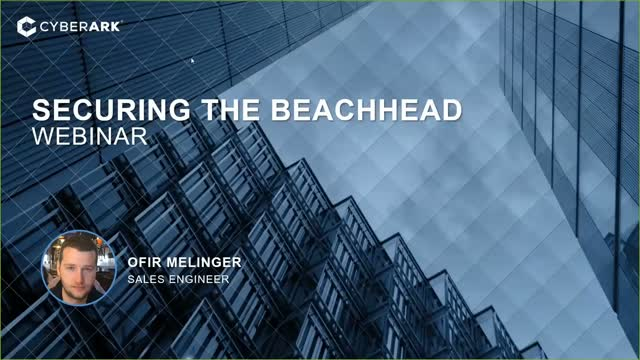 Securing the Beachhead-Protect Against intrusion to Block Lateral Movement