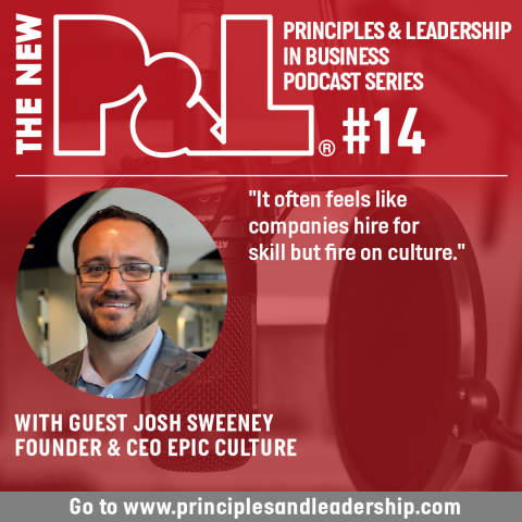 The New P&L speaks to Epic Culture, CEO, Josh Sweeney