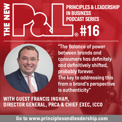 The New P&L speaks to the PRCA Director General, Francis Ingham