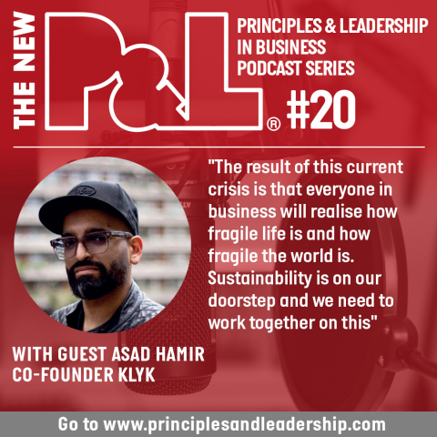 The New P&L speaks to co-founder of green tech start-up, Klyk, Asad Hamir