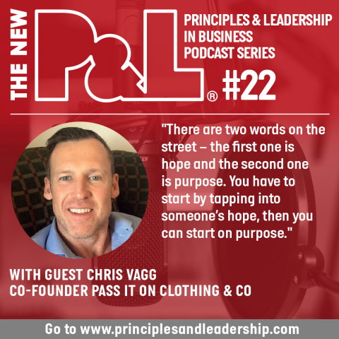 The New P&L speaks to Pass It On Clothing & Co founder, Chris Vagg