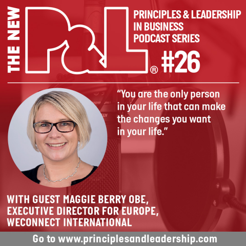 The New P&L speaks to Maggie Berry, Executive Director, Europe at WEConnect