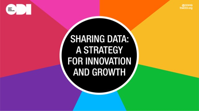 Sharing data: a strategy for innovation and growth