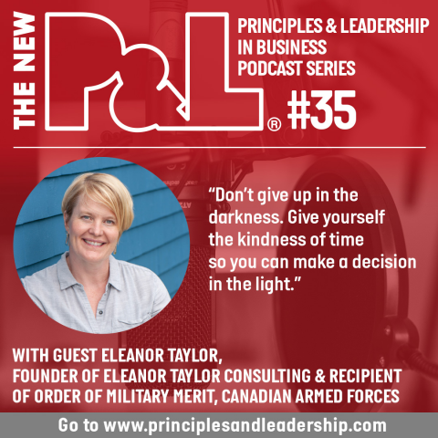 The New P&L speaks to leadership specialist, Eleanor Taylor