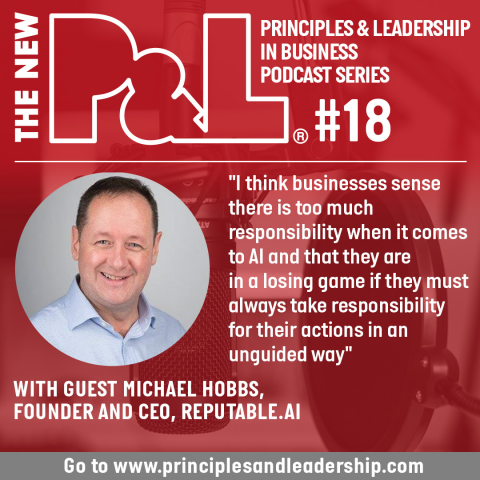The New P&L speaks to Reputable.AI founder & CEO, Michael Hobbs