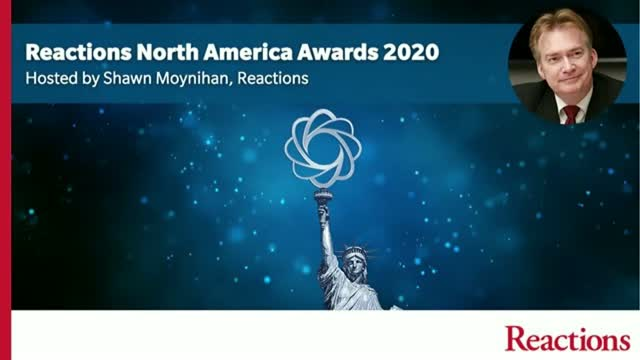 Reactions North America Awards 2020