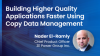 Building Higher Quality Applications Faster Using Copy Data Management