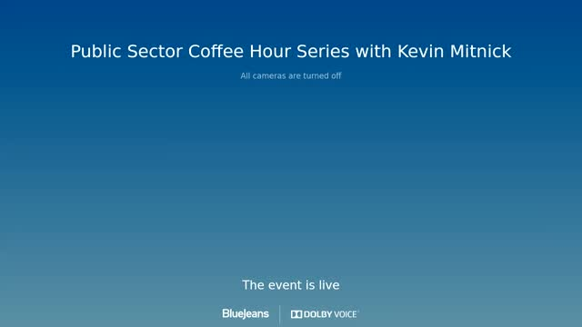 Public Sector Coffee Hour - Kevin Mitnick