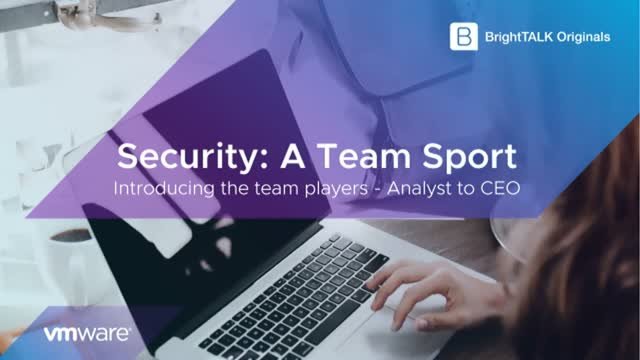 Introducing the Team Players - Analyst to CEO