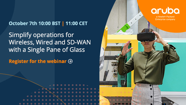 Simplify operations for Wireless, Wired and SD-WAN with a Single Pane of Glass