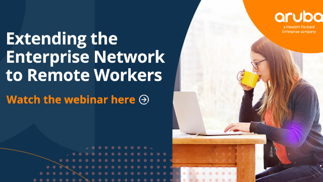 Extending the Enterprise Network to Remote Workers